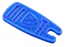 OXY Ersatzteil Rotorblattauflage Ninja Flex in blau für den OXY4