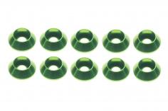 Inbus finishing caps für M3 Inbusschrauben in grün 10 Stück