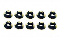 Inbus finishing caps für M3 Inbusschrauben in silber 10 Stück