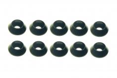 Inbus finishing caps für M3 Inbusschrauben in schwarz 10 Stück