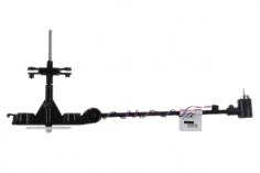Revell Ersatzteil Hauptrahmen inkl Zahnrad, Blatthalter unten und Heckmotor für Revell Control Helicopter Night Flash und Adventskalender 01015, 43737