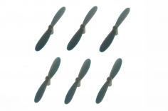 Udi 6 Axen Tiny UFO Rotorblätter Satz in blau