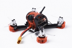 GoFly Mini FPV Racer Falcon CP90PRO in orange für Spektrum