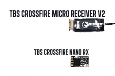 TBS Crossfire Nano Empfänger V2 SE mit Immortal T-Antenne