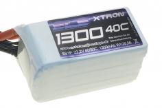SLS Akku XTRON 1300mAh 6S1P 22,2V 40C/80C