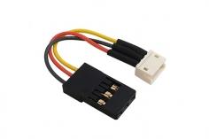 Micro Adapter JST Buchse auf regulären Servo Stecker