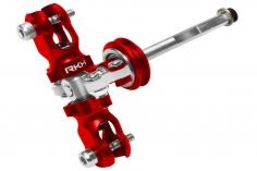 Rakonheli Heckset aus Aluminium in rot für Blade 180 CFX und 180 CFX Trio