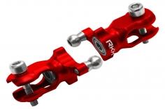 Rakonheli Heckrotorblatthalter aus Aluminium in rot für Blade 180 CFX und 180 CFX Trio