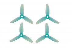 HQ Dreiblatt Propeller DP Durable Prop Poly Carbonat V1S in blau transparent 3x5x3V1S je 2 Stück cw und ccw
