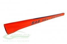 Heckrohr orange/blau für Goblin 570 Sport Line