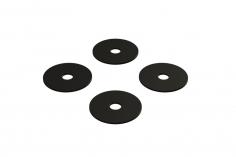 OXY Ersatzteil Hauptrotorblatthalter Distanzscheiben Set in schwarz für OXY4