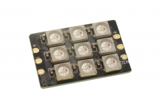 LED Block 3x3 WS2812 mit 9 LED´s 5Volt schaltbar