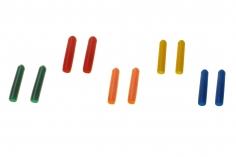 Schalterabdeckung aus Silikon in fünf Farben je 2 Stück