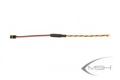 MSH Brain FrSky Adapter Kabel zwischen MSH Brain FBL und FrSky Empfänger