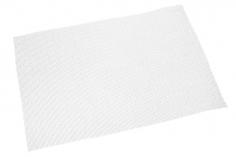 Scale Gittergewebe in weiß aus GFK 20x30cm