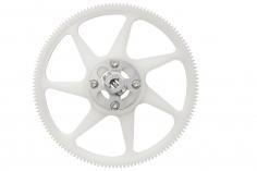 Rakonheli Hauptzahnrad aus Delrin 140 Zähne mit Alu Nabe in silber für Blade 250CFX