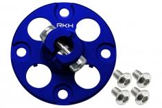 Rakonheli Alu Nabe für Hauptzahnrad in blau für Blade 250CFX