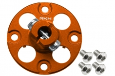 Rakonheli Alu Nabe für Hauptzahnrad in orange für Blade 250CFX
