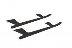 OXY Ersatzteil Landekufen aus carbon Pro Edition für OXY4