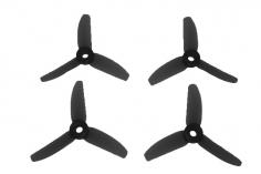 HQ Dreiblatt Propeller DP Durable Prop Poly Carbonat in schwarz 3x5x3 je 2 Stück cw und ccw