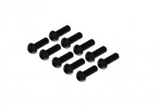 Linsenkopfschrauben mit Innensechskant M2x6 für OXY Heli 10 Stück