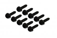 Selbstschneidende Linsenkopfschrauben mit Innensechskant M2x8 für OXY Heli 10 Stück