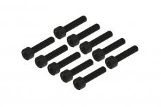 Inbusschauben M2,5x12 für OXY Heli 10 Stück