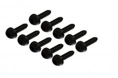 Selbstschneidende Linsenkopfschrauben mit Innensechskant M2,5x8 für OXY Heli 10 Stück