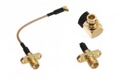 FPV Antennenadapter MMCX auf RPSMA (mit Pin) mit Halterung ca. 10cm