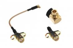 FPV Antennenadapter MMCX auf SMA (ohne Pin) mit Halterung ca. 10cm