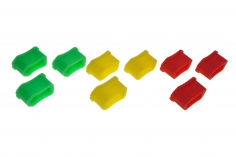 Abdeckkappen für XT60 Buchsen 9 Stück je 3xgelb/grün/rot