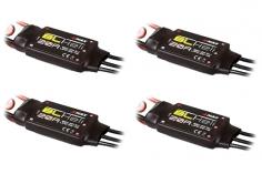 Emax 20 Ampere Brushlessregler BLHeli Set mit 2Ampere 5Volt BEC 2-4S 4 Stück
