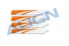 Align Einsteiger-Hauptrotorblätter T-REX 150 orange