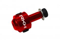 Rakonheli Heckrotorblatthalter aus Alu in rot für 130S, 150S,  200SRX, 200S, 230S, 230S V2, 230S Night und 250CFX