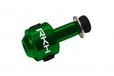 Rakonheli Heckrotorblatthalter aus Alu in grün für 130S, 150S, 200SRX, 200S, 230S, 230S V2, 230S Night und 250CFX