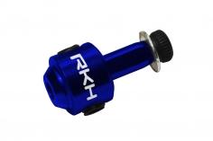 Rakonheli Heckrotorblatthalter aus Alu in blau für 130S, 150S, 200SRX, 200S, 230S, 230S V2, 230S Night und 250CFX
