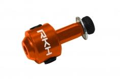 Rakonheli Heckrotorblatthalter aus Alu in orange für 130S, 150S,  200SRX, 200S, 230S, 230S V2, 230S Night und 250CFX