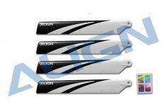 Align Hauptrotorblätter 120mm in weiß schwarz für T-REX 150X