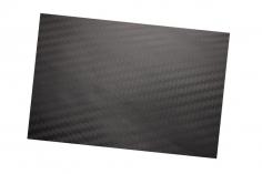 Scale-Folie für Rümpfe zum Beispiel als Bodenbelag 20x30cm im schwarz matten Carbon Design