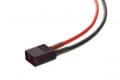 XT60 Anschlusskabel mit schwarzem Stecker mit 15 cm Länge