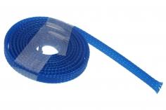 Geflechtschlauch 3-9 mm 1Meter in dunkel blau