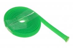 Geflechtschlauch 3-9 mm 1Meter in gün