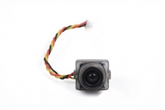 GoFly Micro FPV Camera 600TVL NTSC 4:3 2.8mm 170° 3,3-5,5Volt mit Gehäusehalterung