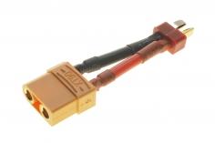 Adapter mit Deans Stecker und XT90 Buchse