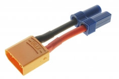Adapter mit XT90 Stecker und EC5 Buchse