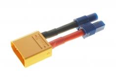 Adapter mit XT90 Stecker und EC3 Buchse