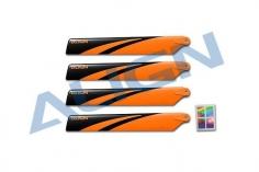 Align Hauptrotorblätter 120mm in orange für T-REX 150X
