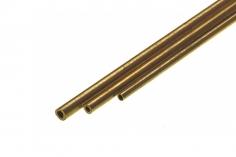 Messing Rohr 4,0mm Durchmesser 1 Meter
