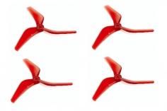 AZURE POWER RACE 3Blatt Propeller 5140 5,1x4x3 Zoll 2XCW + 2X CCW 5mm Bohrung in spezial rot