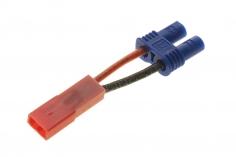 Adapter BEC / JST Stecker auf EC2 Buchse